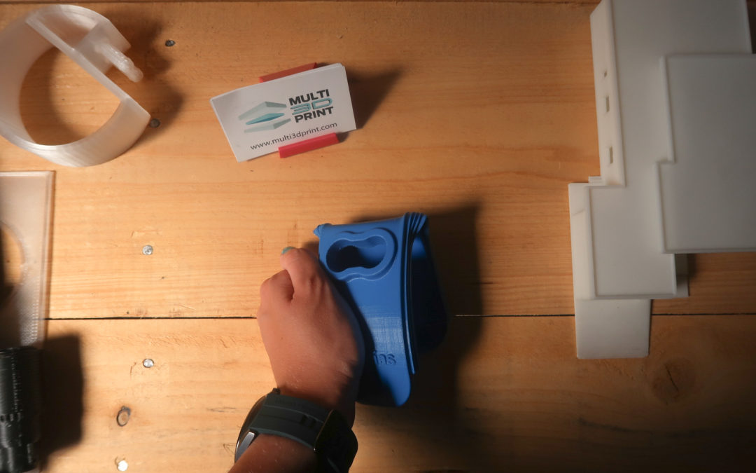 Fabricación de prototipo en filamento flexible mediante impresión 3d