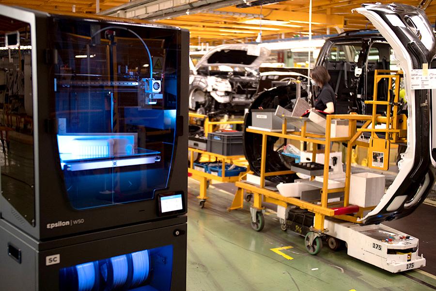 Nissan implementa utillajes impresos en 3d con BCN3D