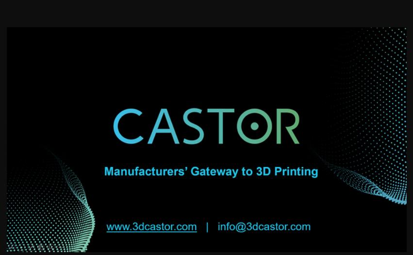 Software CASTOR análisis 3d